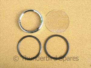 Speedo Bezel and Glass Repair Kit, Smiths Magnetic type, New & Improved!